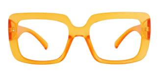 4384 Niki Rectangle yellow glasses