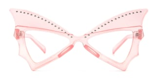 5057 Faithe Butterfly pink glasses