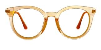 50618 Nada Oval orange glasses