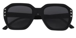 5107 Antony Geometric black glasses