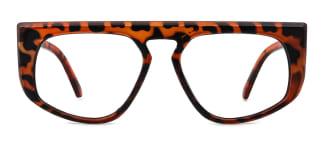 5111 Eleonore Aviator tortoiseshell glasses