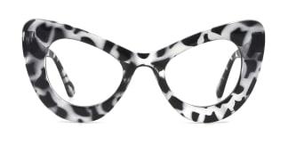 51411 Gina Cateye tortoiseshell glasses