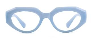 5182 Annabella Geometric blue glasses