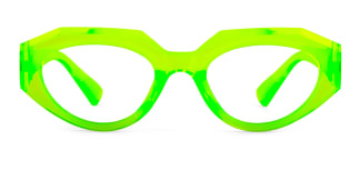 5182 Annabella Geometric green glasses