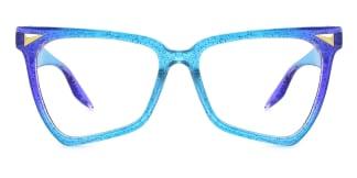 5310 Lena Butterfly blue glasses