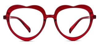 5330 Odella  red glasses