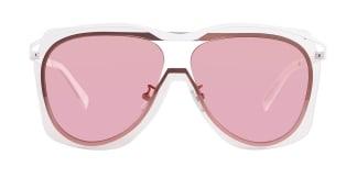 58106 slang Aviator pink glasses
