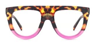 66188 Vanessa Aviator purple glasses