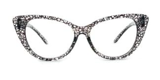 70042 Kandy Cateye black glasses