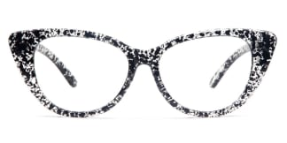 7351 Adele Cateye black glasses