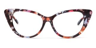 77042 Felice Cateye floral glasses