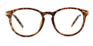 77333 Randy Round tortoiseshell glasses