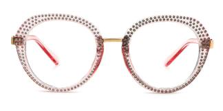 800381 Florinda Cateye pink glasses