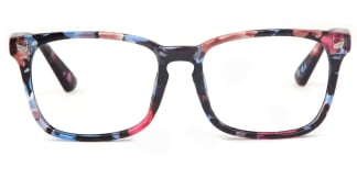 8082-1 Cory Rectangle floral glasses