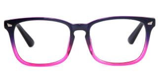 8082 Beverly Rectangle purple glasses