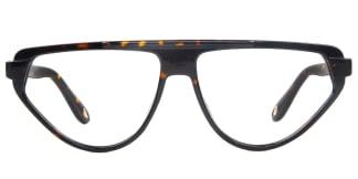813021 Margo Aviator tortoiseshell glasses