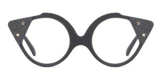 8538 Stella Cateye black glasses