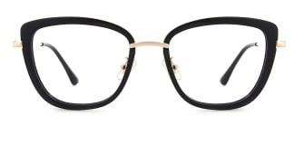 87030 Verna Cateye black glasses