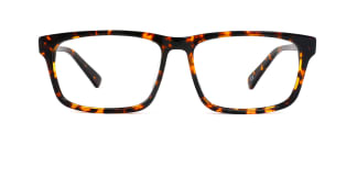 8850 Harald Rectangle tortoiseshell glasses