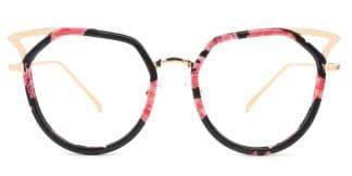9016 Elma Cateye floral glasses