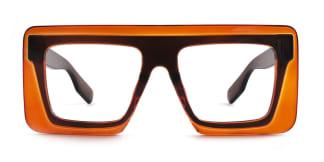9081 Maverick Aviator orange glasses