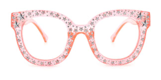9136 Starry Oval pink glasses