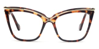 92107 Lacey Cateye tortoiseshell glasses
