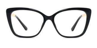 92313 Gigi Cateye black glasses