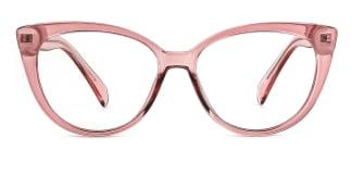 92372 Ami Cateye pink glasses
