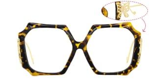 9249 Flutter  tortoiseshell glasses
