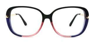 93312 Tatum Rectangle multicolor glasses