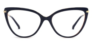 93335 Fay Cateye blue glasses