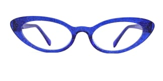 93359 Ida Cateye blue glasses