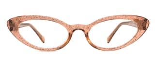 93359 Ida Cateye brown glasses