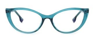 93366 nehemiah Cateye green glasses