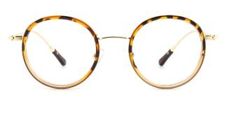 94524 Idalia Round tortoiseshell glasses