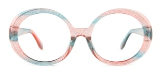 95010 hebe Oval multicolor glasses
