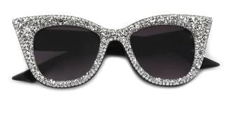 95049 Gerlisa Cateye white glasses