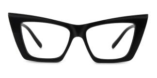 95088 Eboni Cateye black glasses