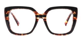 95165 Dixie Rectangle tortoiseshell glasses
