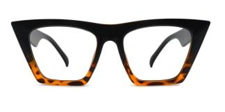 9522 Bella Belle Cateye tortoiseshell glasses