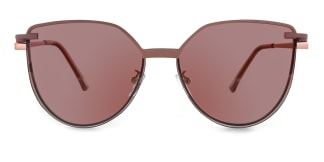 95802 Anabelle Cateye purple glasses