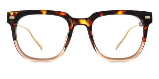 95837 Amberann Rectangle tortoiseshell glasses