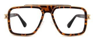95882 Elouise Aviator tortoiseshell glasses