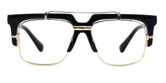 97132 Welsie Aviator black glasses
