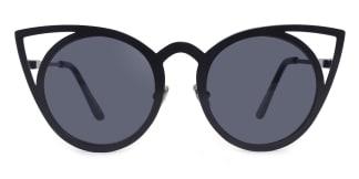 97146 cattyrella Cateye black glasses