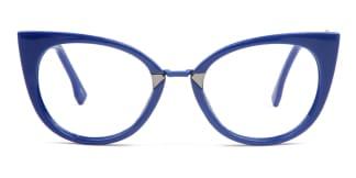 97320 Arabella Cateye blue glasses