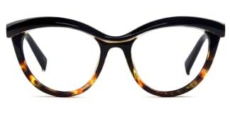 97565 Madison Cateye tortoiseshell glasses