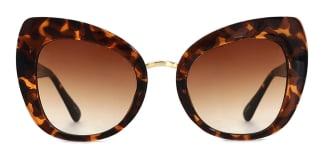 97656-1 Magda Cateye tortoiseshell glasses