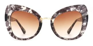 97656 Elena Cateye tortoiseshell glasses